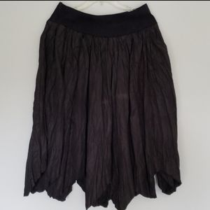Boutique Skirts - Boutique Boho Asymmetrical Skirt/ Embellished Belt